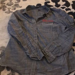 NWOT: Brembo Button Down Collared Shirt